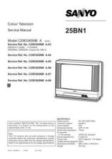 Buy Sanyo Service Manual For 21BN1 SM-Only Manual by download #175496