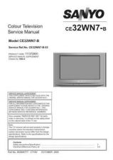 Buy Sanyo CE32WN7-B-03 Manual by download #173310