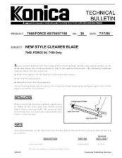 Buy Konica 36 Service Schematics by download #135497