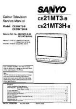 Buy Sanyo CE21MT3H-B-00 SM-Only Manual by download #172950