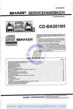 Buy Sharp CDBK300W SM GB Manual by download #179860