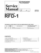 Buy PIONEER R1945 Service Data by download #153048