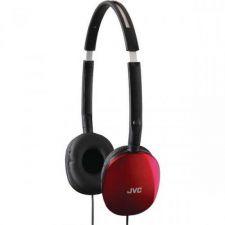 Buy Jvc Flats Lightweight Headband Headphones (red)