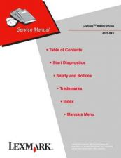 Buy LEXMARK W820 OPTIONS 4025 XXX Service Manual by download #137994