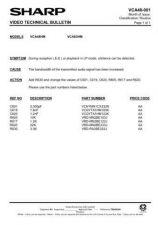 Buy Sharp VCA48HM-025 Service Schematics by download #158300