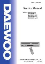 Buy Daewoo DV6T834B SPECS Manual by download Mauritron #184140
