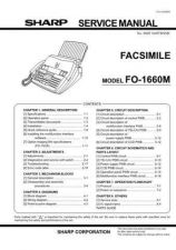 Buy Sharp 593 FO-1660M Manual by download #178713