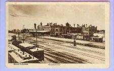 Buy GER Brest Litowsk -Hauptbahnhol View Across Tracks Long Platform w/Small S~131