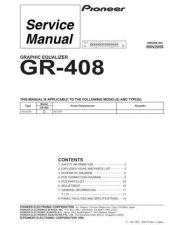 Buy PIONEER R2059 Service Data by download #149375