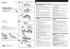 Buy SONY MPK-P1 CZ-SCREEN OPERATING GUIDE by download #167095