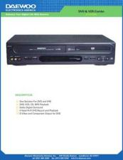 Buy Daewoo DV6T834N-965N USER MANUAL Manual by download Mauritron #184143