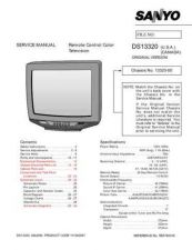 Buy Sanyo DS13320 19310(OM) Manual by download #173992