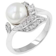 Buy Antique Style Pearl Ring (size: 06)