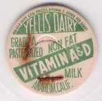 Buy CA Anaheim Milk Bottle Cap Name/Subject: Yellis Dairy Non Fat Vitamin A & ~310