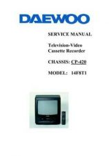 Buy Daewoo 14F8T1 (E) Service Manual by download #154574