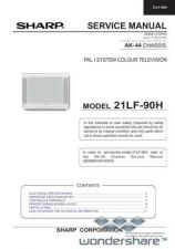 Buy Sharp 21LF90H SM GB Manual.pdf_page_1 by download #177910