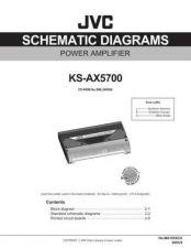 Buy JVC KS-AX5700J sch Service Schematics by download #156247