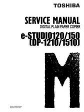 Buy Toshiba Estudio 120 TRAINING Service Manual by download #139277