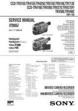 Buy SONY CCDTRV418E Service Manual by download #166551