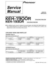 Buy PIONEER C2279 Service Data by download #152523