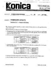 Buy Konica 50 FIRMWARE UPDATE MODEL 41 Service Schematics by download #136206