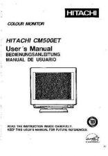 Buy Sanyo CM500ET EN Manual by download #173475