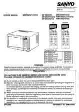 Buy Sanyo Service Manual For EM-S153 CometSilver Manual by download #175861