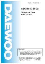 Buy DAEWOO SM KOC-624Q (E) Service Data by download #146849