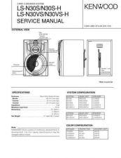 Buy KENWOOD LS-N30S N30S-H VS VS-H Technical Info by download #148284