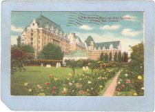 Buy CAN Victoria Postcard C P R Empress Hotel & Rose Gardens can_box1~214