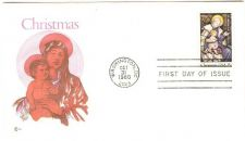 Buy DC Washington First Day Cover / Commemorative Cover Christmas 1980~12