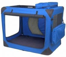 Buy Pet Gear Generation II Deluxe Portable Soft Dog Crate Pad Treat Bag Large