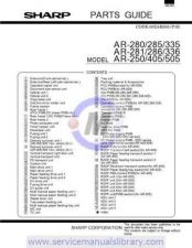Buy Sharp AR280-285-335 PG GB(1) Manual by download #179401
