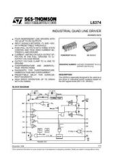 Buy SEMICONDUCTOR DATA L6374J Manual by download Mauritron #188553
