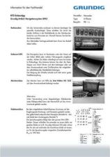 Buy Grundig GPS3E03D Manual by download Mauritron #185471
