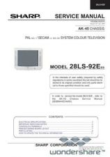 Buy Sharp 28LS92E SM GB(1) Manual.pdf_page_1 by download #178131