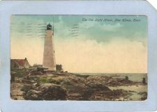 Buy CT New Haven Lighthouse Postcard New Haven Lighthouse lighthouse_box1, ct_~109