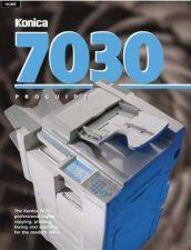 Buy Konica 7030PG Service Schematics by download #135517