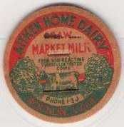 Buy CA Rocklin Milk Bottle Cap Name/Subject: Aitken Home Dairy~2