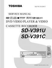 Buy TOSHIBA SDV392SUA SDV392SCASVM Service Schematics by download #160454