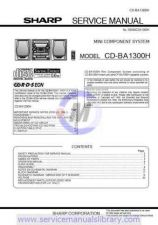 Buy Sharp CDBA3100H SM DE(1) Manual by download #179849