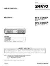 Buy Sanyo MPX-CD162 Manual by download #174611