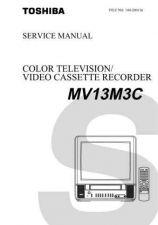 Buy TOSHIBA MV13M3C Service Schematics by download #160229