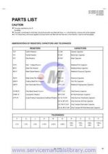 Buy Sharp AV-32320 PART Manual by download #179697