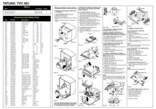 Buy Tatung TVC 562 Service Manual by download #153538