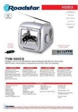 Buy ROADSTAR TVM-5005 S by download #128560