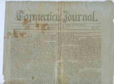 Buy CT New Haven Newspaper Title: Connecticut Journal Date: Oct-26-1797~7