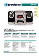 Buy ROADSTAR HIF-9110L N by download #128233