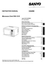 Buy Sanyo CG450S Manual by download #173328