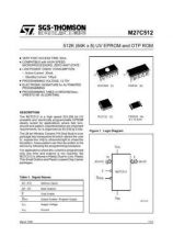 Buy SEMICONDUCTOR DATA 27C512J Manual by download Mauritron #186877
